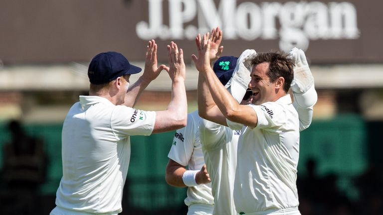 Ireland collapse to big loss at Lord's