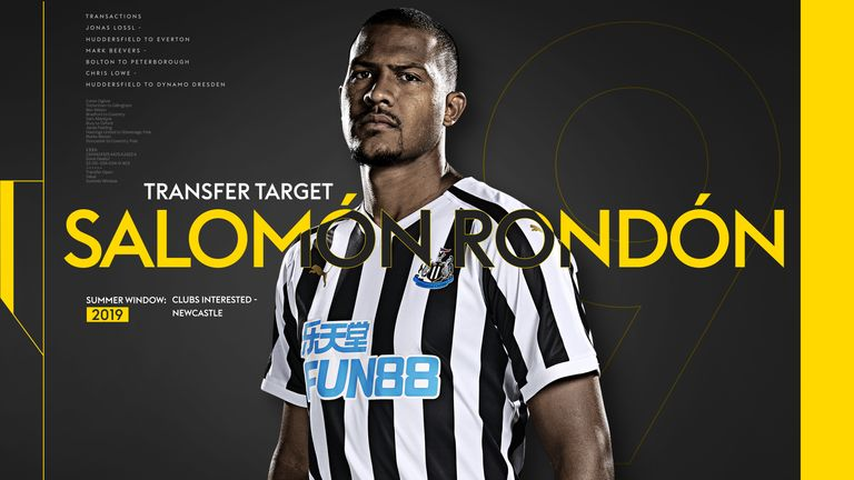 With Rondon poised to depart English football, we take a look at some of his best goals from last season in the Premier League
