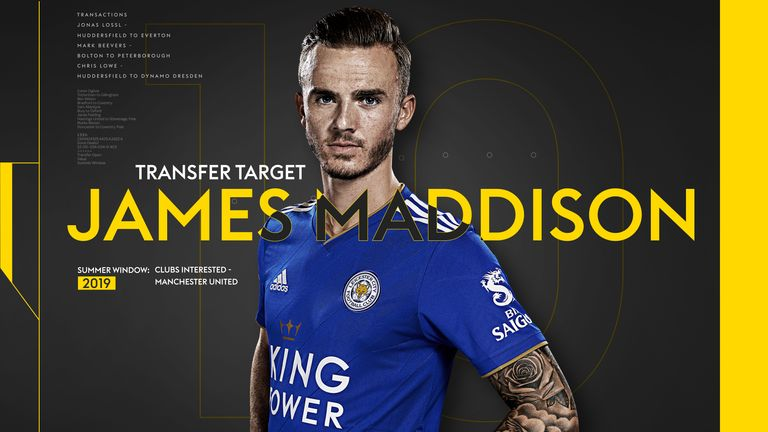 With a host of clubs linked with a move for James Maddison, we take a look at some of his best goals from his debut season in the Premier League