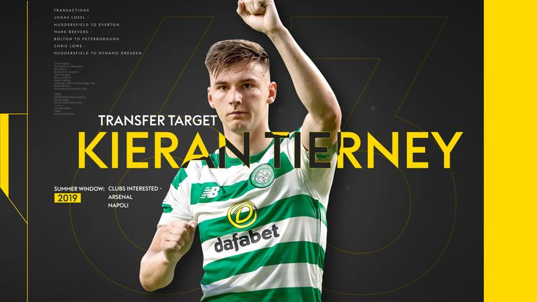 Could Kieran Tierney be Celtic's next export to the Premier League? With Arsenal said to have had a bid rejected for the left-back, take a look at some of his best moments for the Bhoys