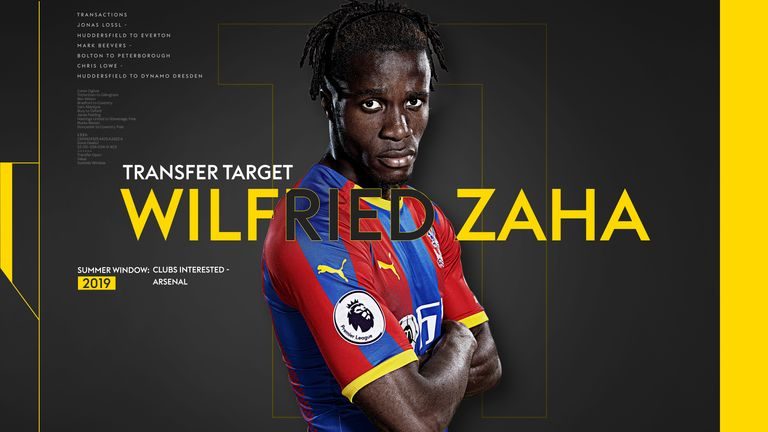 Take a look at some of Zaha's best goals and skills from the last few seasons in the Premier League
