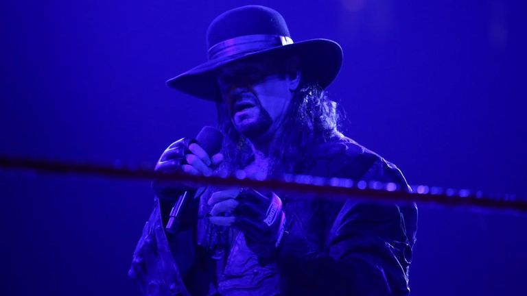 The Undertaker has had plenty to say to Shane McMahon and Drew McIntyre on recent episodes of Raw