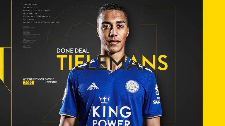 With Youri Tielemans linked with a permanent move to the Premier League following his successful loan at Leicester, we take a look at some of his best moments from this season