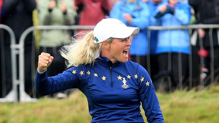 Team Europe's last home success in the Solheim Cup came in 2011, where Suzann Pettersen's dramatic singles win helped the hosts to victory