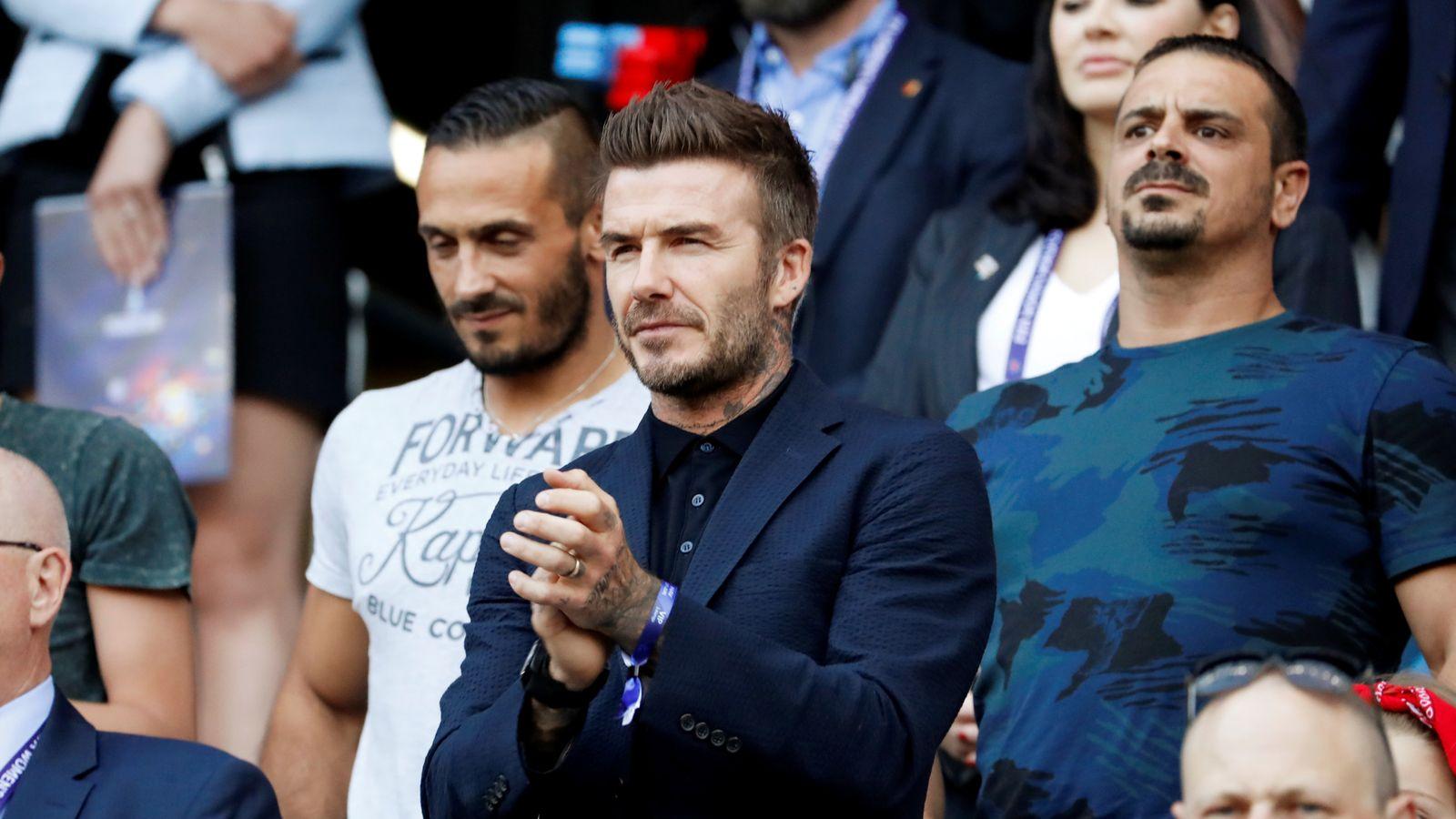 Site for Beckham's Miami stadium contaminated with arsenic - report
