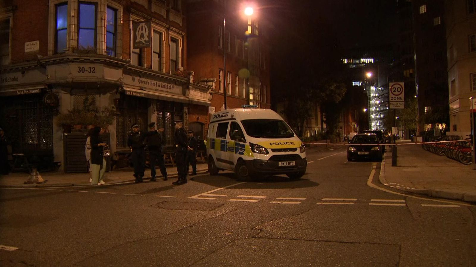 Man stabbed to death in north-west London