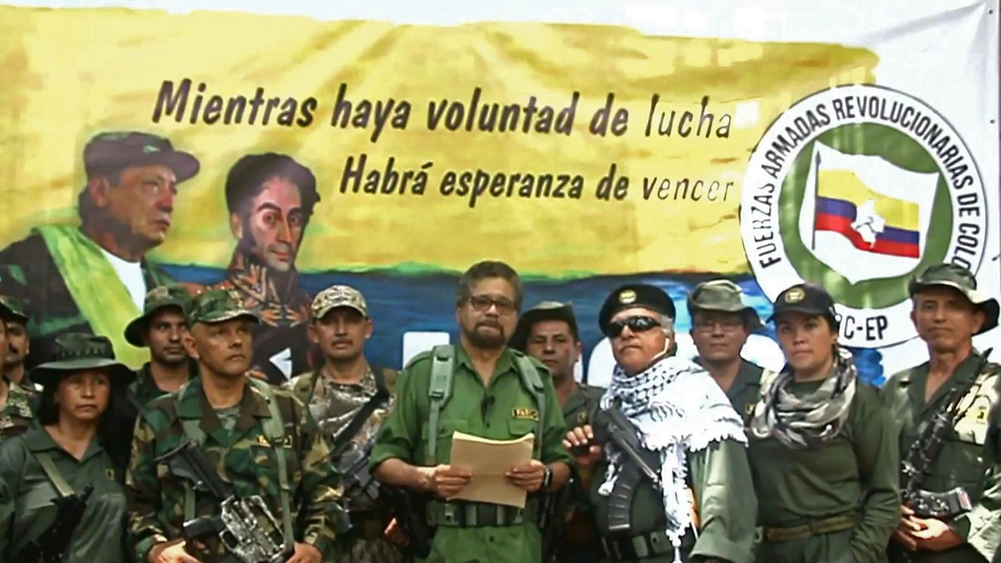Former FARC commanders say they are taking up arms again