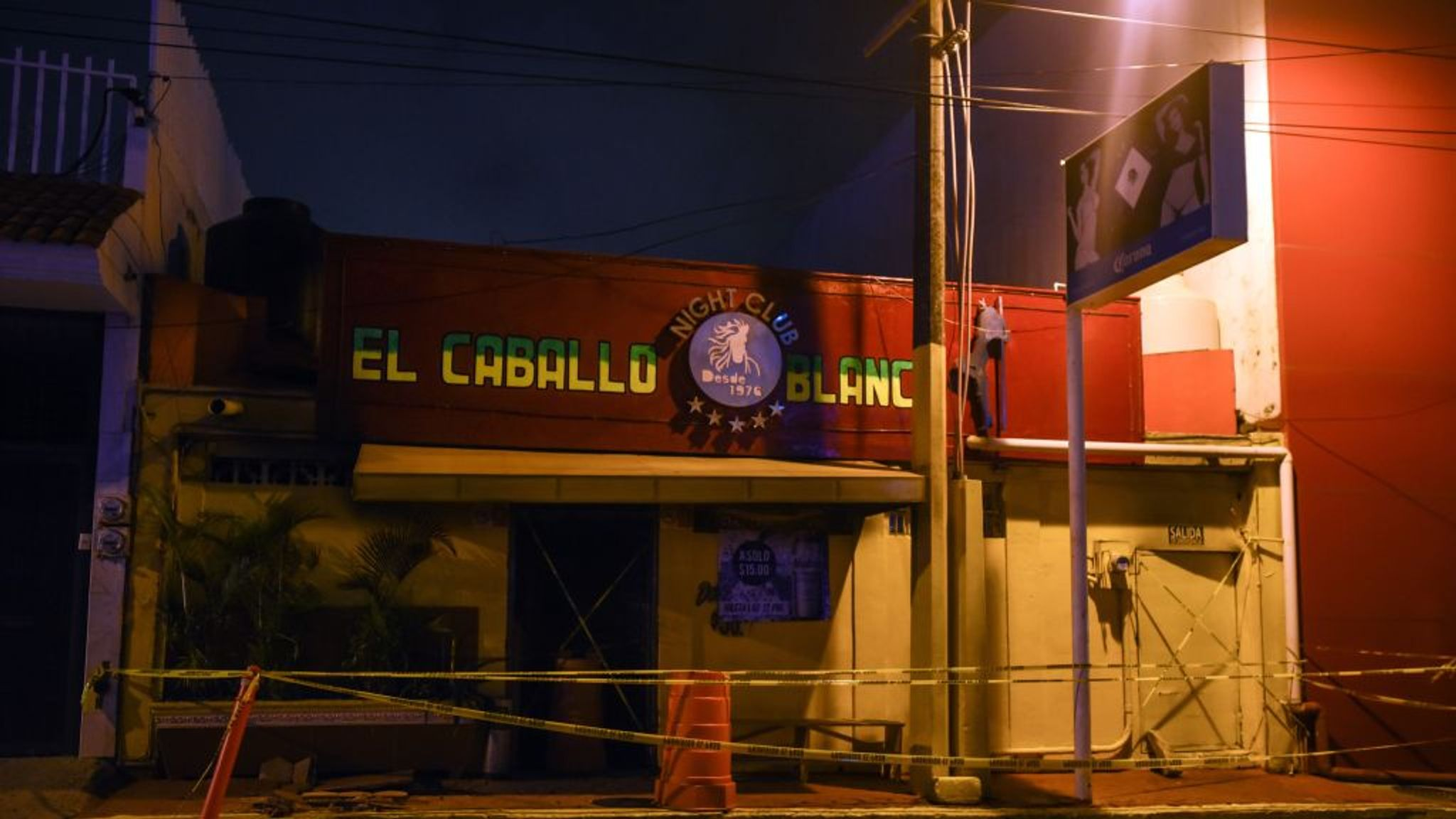 Mexican President Condemns Arson Attack On Bar Which Killed