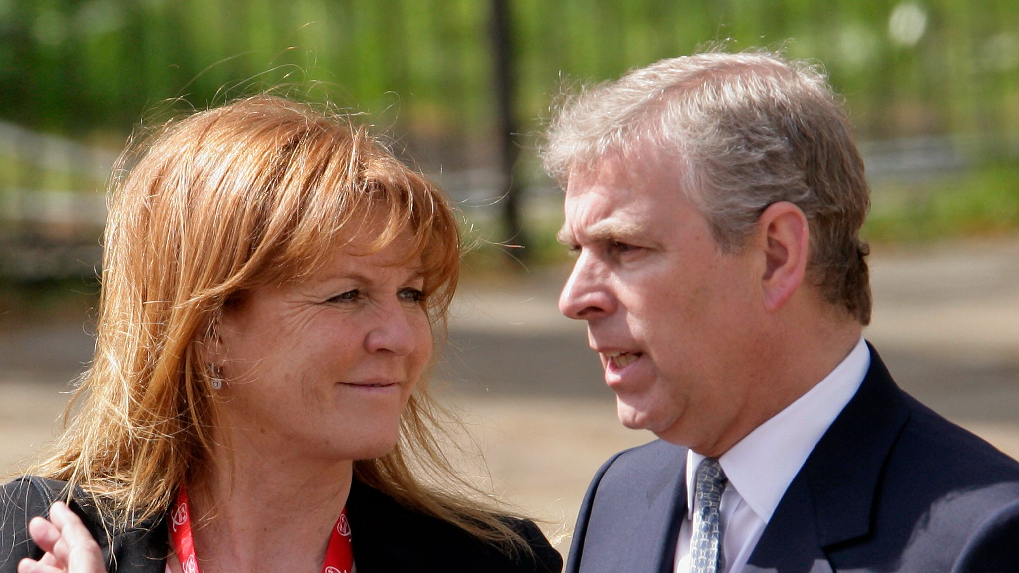 Prince Andrew spotted with celebrity lawyer who ...