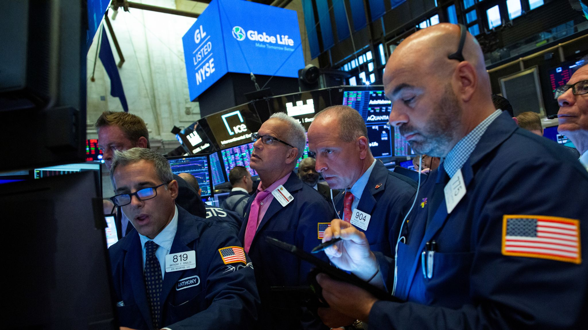 US-China trade tensions and Brexit rattle markets