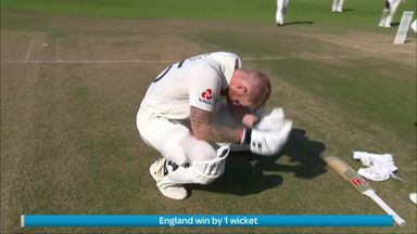 The moment England won