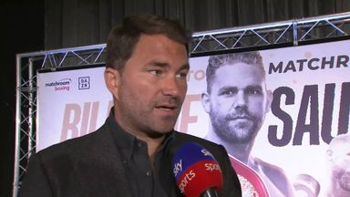 Hearn: Saunders will be in big fights