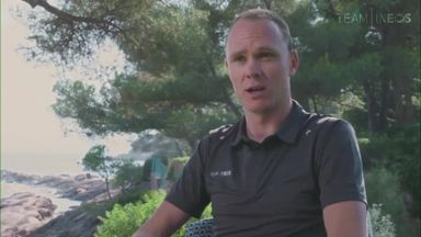 Froome: Horror crash felt like TV drama