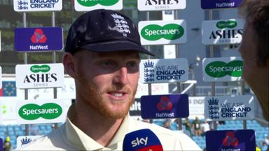 Stokes receives ovation during interview
