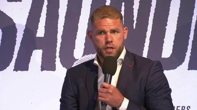 Saunders: I'll fight GGG at any weight