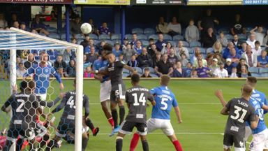 Harrison gives Pompey the lead