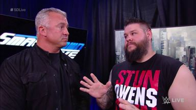 Owens negotiates his fine with McMahon