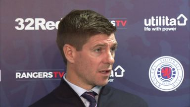 Gerrard happy with Europa progress