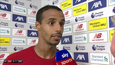 Matip: Arsenal a tough opponent