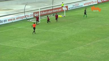Wonder goal in Colombian U21 match