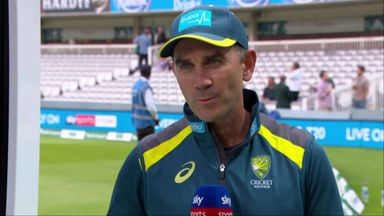 Langer: Pitch great for Test cricket