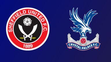Sheffield United v Crystal Palace