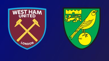 West Ham v Norwich City