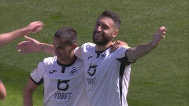 Bastón gets Swansea's third!