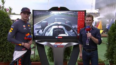 Verstappen's SkyPad pole analysis