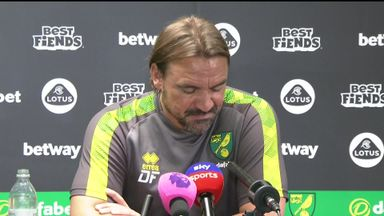 Farke: Norwich will not wave white flag