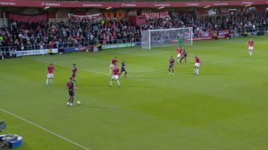 Nketiah's first Leeds goal!