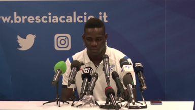 Balotelli: My mum cried at Brescia return
