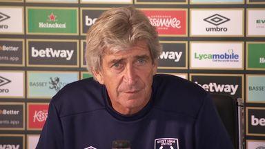 Pellegrini: Lanzini happy at West Ham