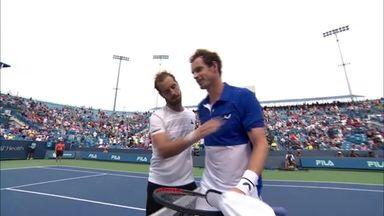 Murray loses on singles return