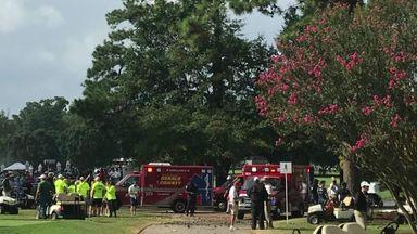 Lightning injures several at PGA event