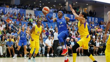 WNBA: Sparks 78-84 Wings