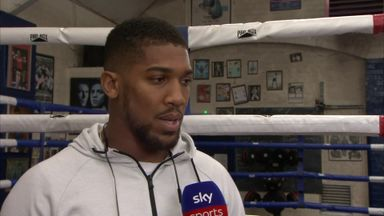 AJ: I'd love Ruiz rematch at Cardiff