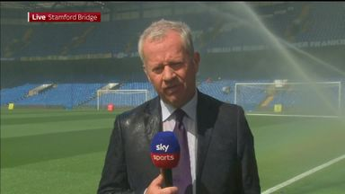 SSN reporter soaked by Chelsea sprinkler!