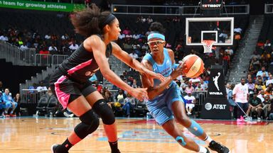 WNBA: Sky 87-83 Dream