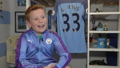 Meet Man City's 10-year-old superfan!