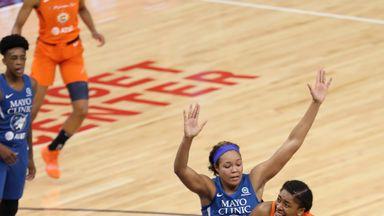 WNBA: Sun 57-89 Lynx