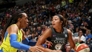 WNBA: Wings 70-86 Lynx