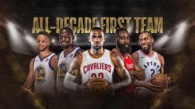 Biggest surprise on All-Decade team?