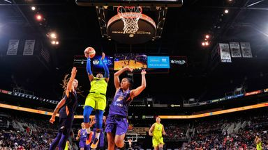 WNBA: Wings 80-77 Mercury