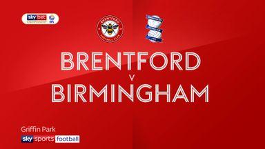 Brentford 0-1 Birmingham