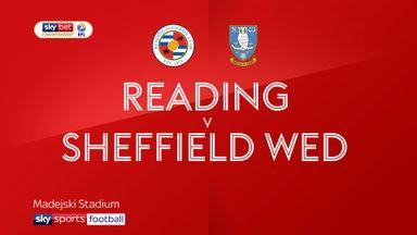 Reading 1-3 Sheff Wed