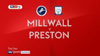 Millwall 1-0 Preston