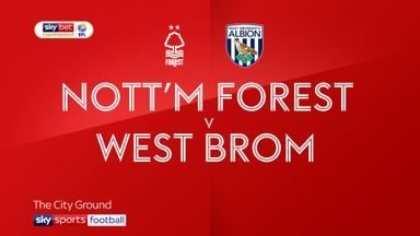 Nottingham Forest 1-2 West Brom