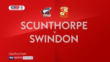 Scunthorpe 0-2 Swindon
