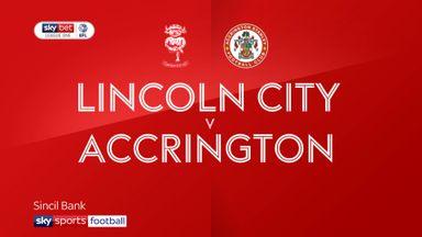 Lincoln 2-0 Accrington